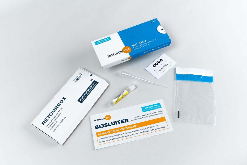 Soa test urine afname